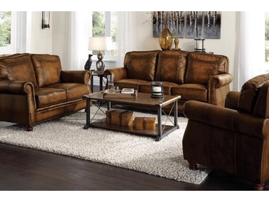 Coaster Living Room Set Includes:  2pc (Sofa Love) 503981-S2