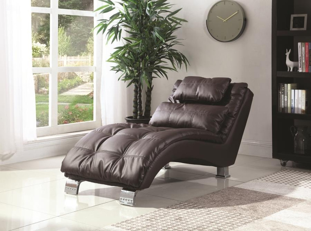 Coaster Living Room Chaise 550076 The Furniture House Of