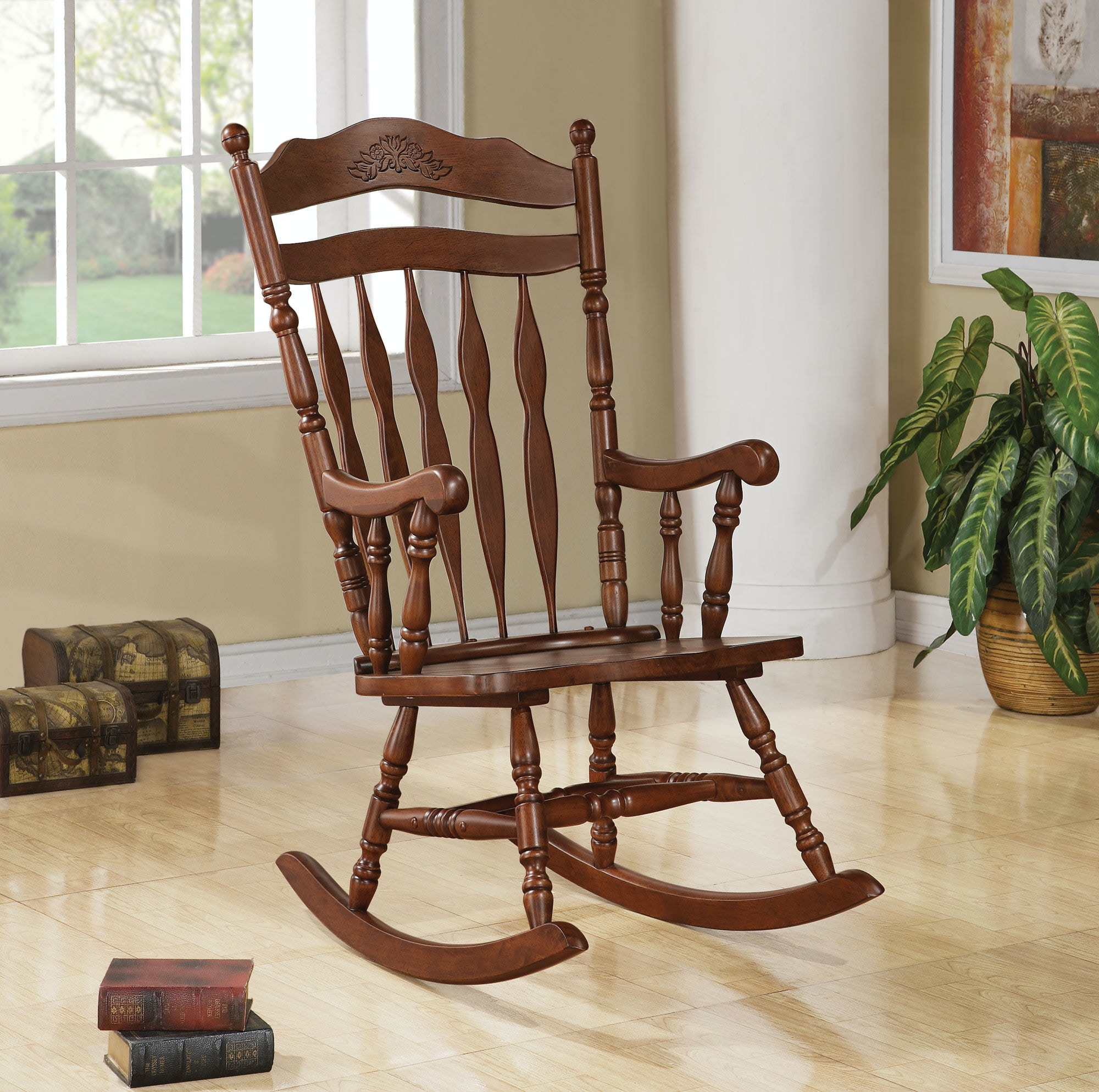 Coaster Living Room Rocking Chair 600187   Turner Furniture Company   Avon  Park And Sebring, FL