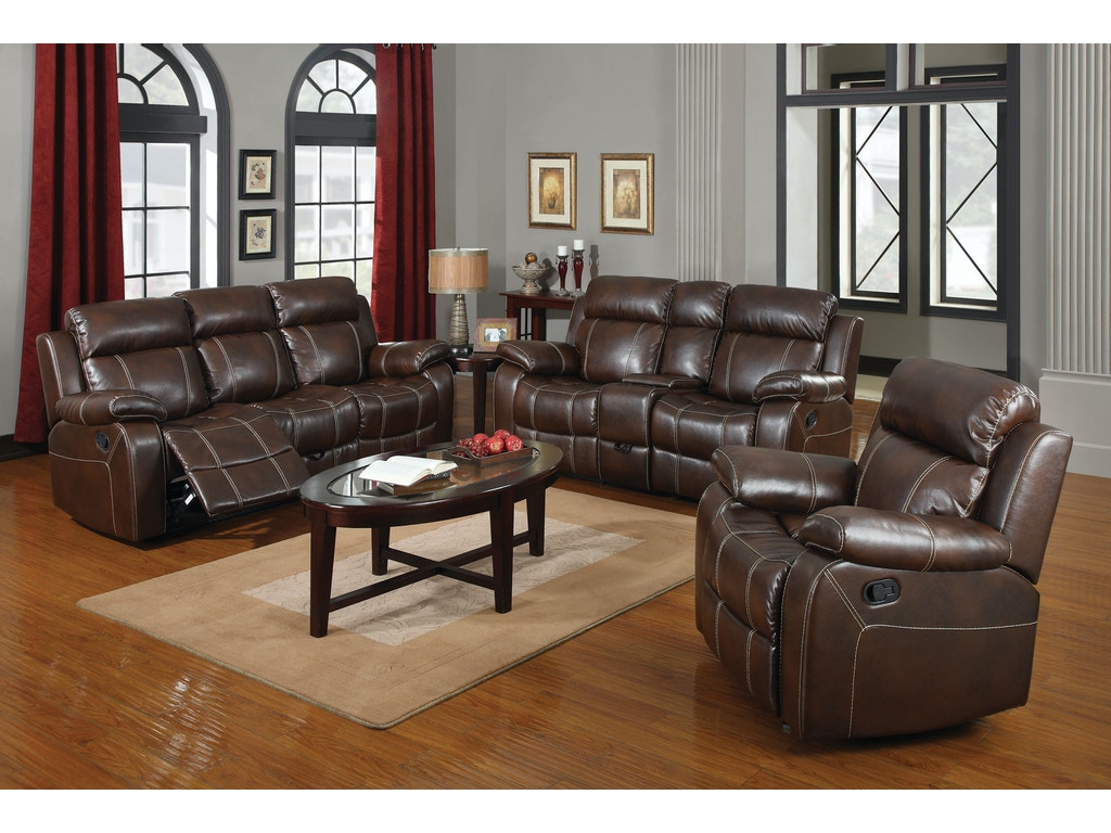 Coaster living room motion sofa 603021 a w furniture redwood falls mn for Motion living room furniture
