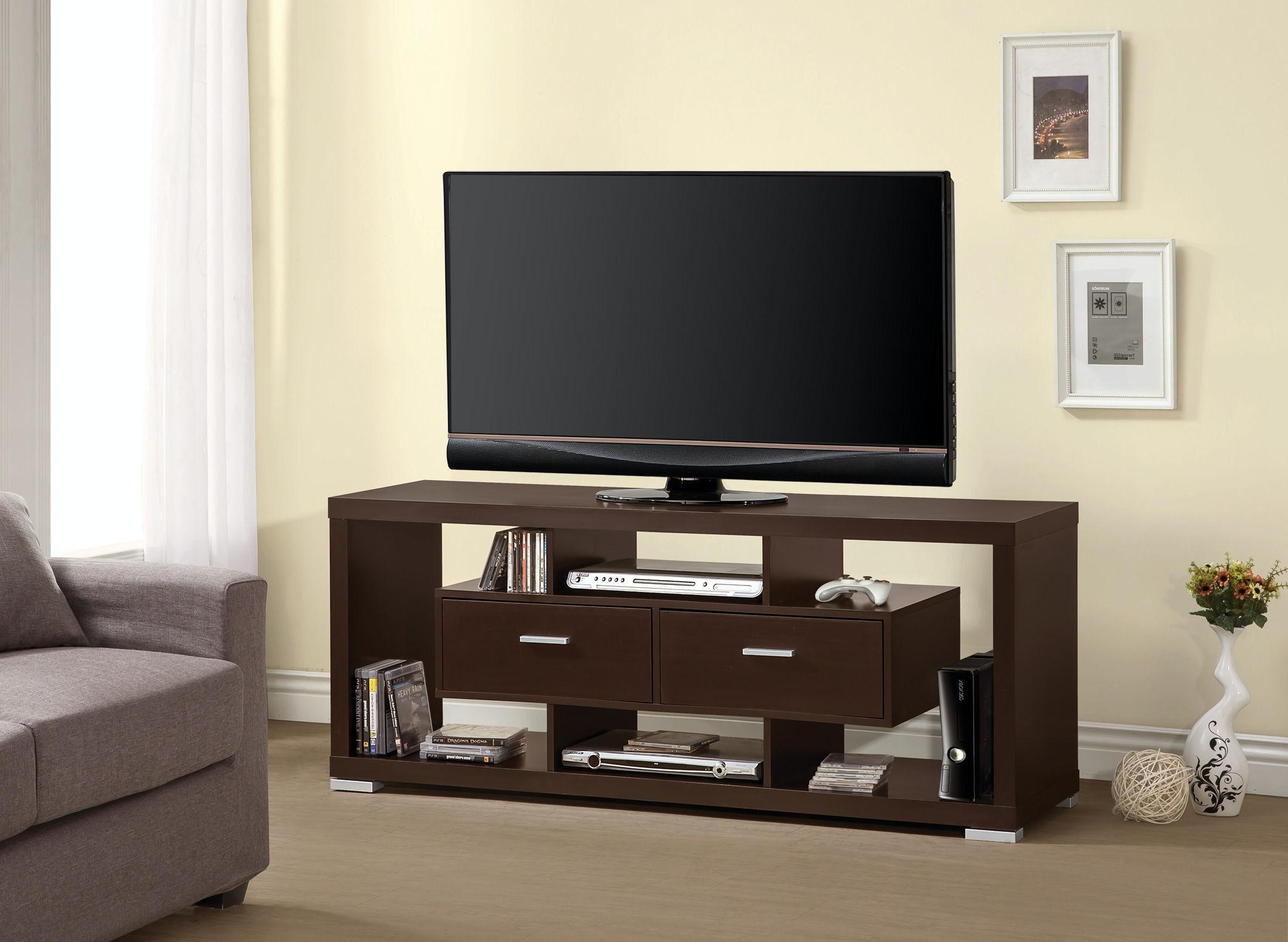 Coaster tv console 700112