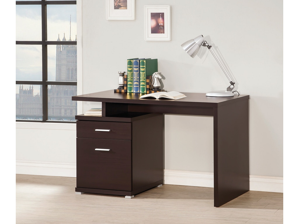 Coaster home office desk 800109 simply discount for Affordable home office desks