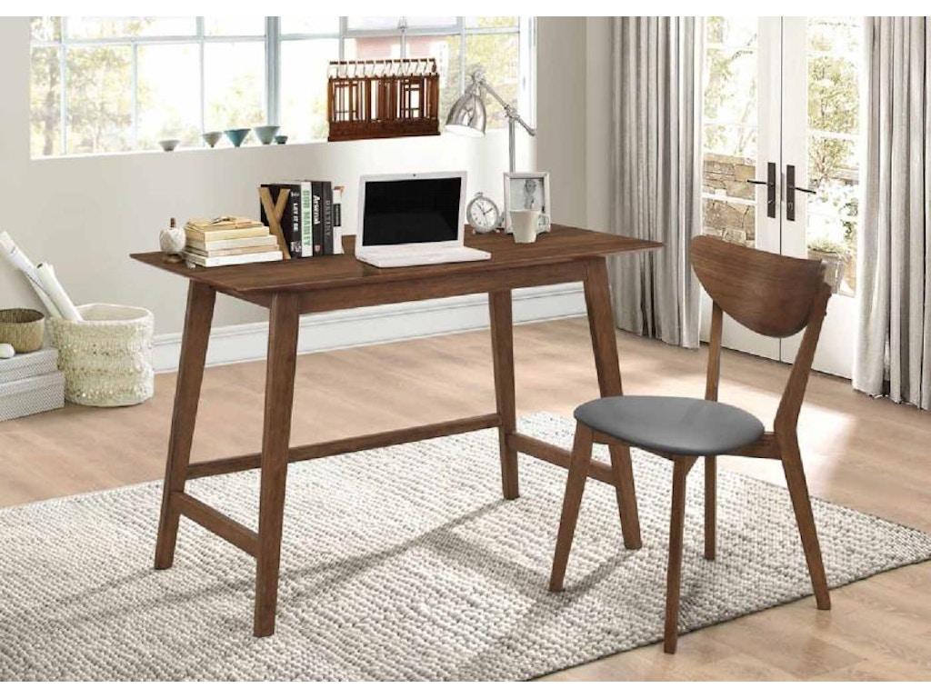 Coaster Home Office Desk Set 801095 Gilliam Thompson Furniture Mayfield Ky