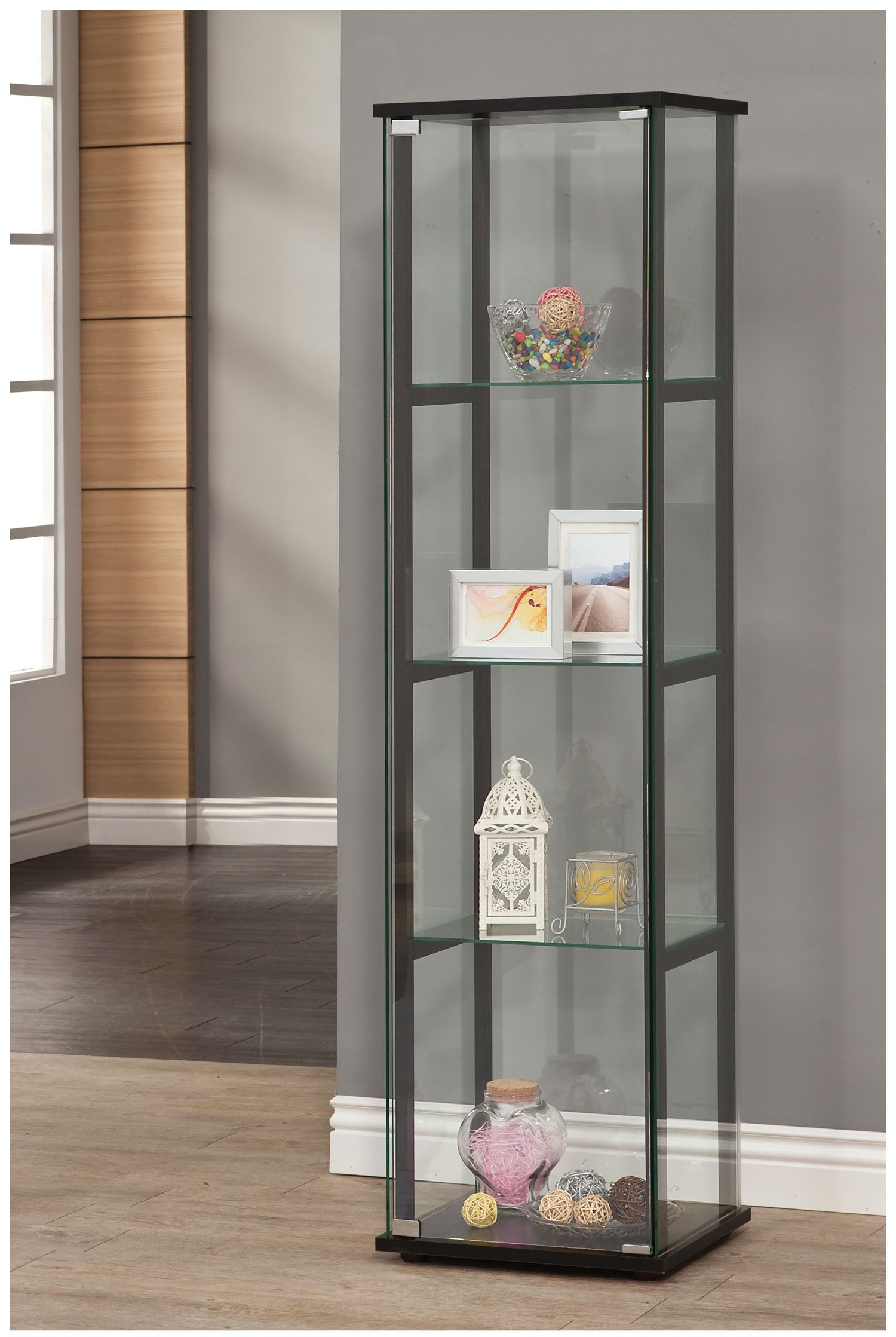 coaster living room curio cabinet 950171 home decor acme furniture living room adjustable sofa 15282 home