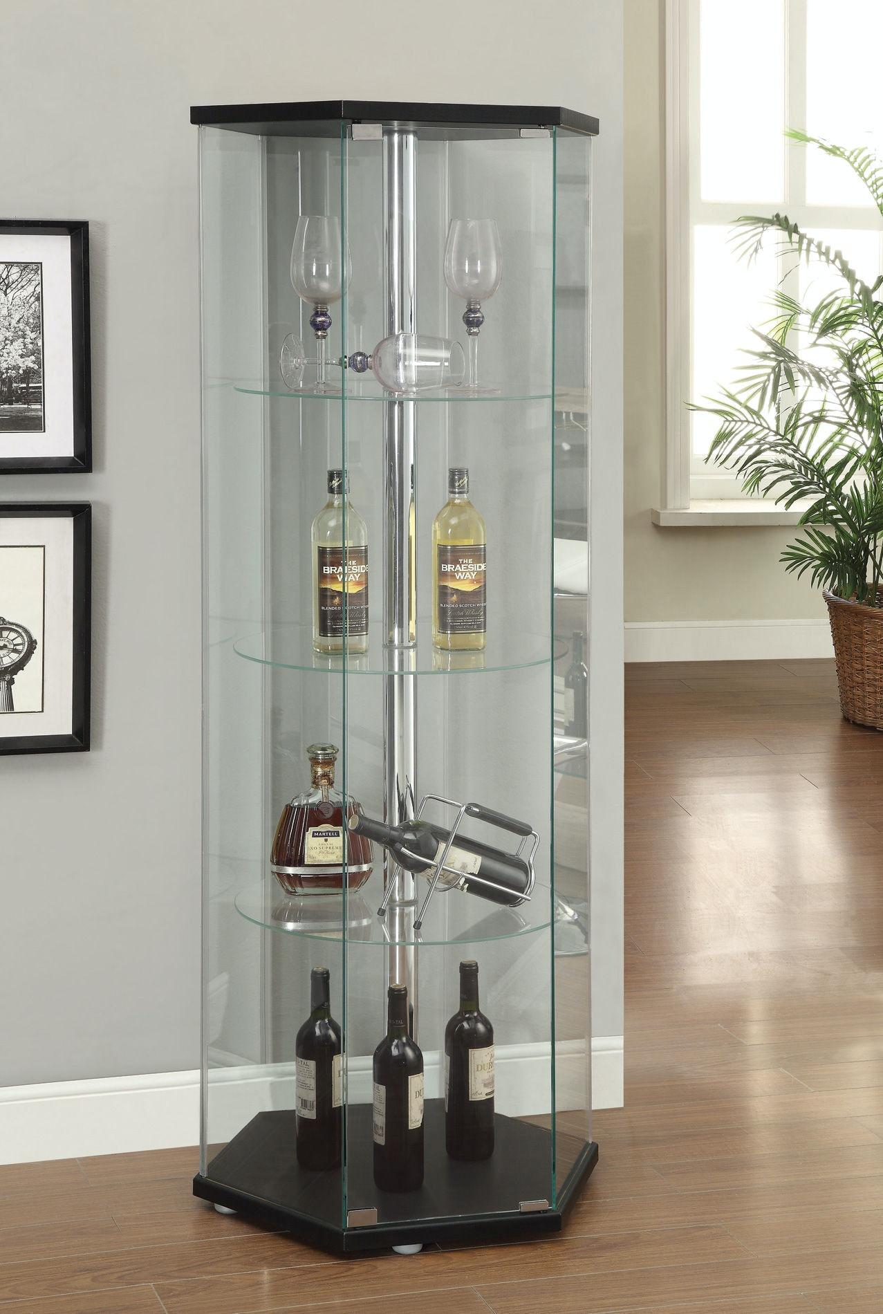 coaster living room curio cabinet 950276 home decor home decor nostrand ave on vaporbullfl com