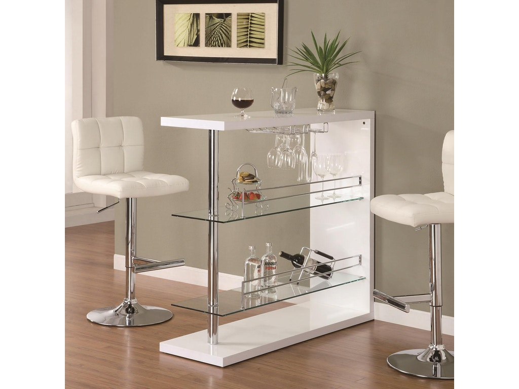 Coaster Bar And Game Room Bar Table 100167 The Furniture