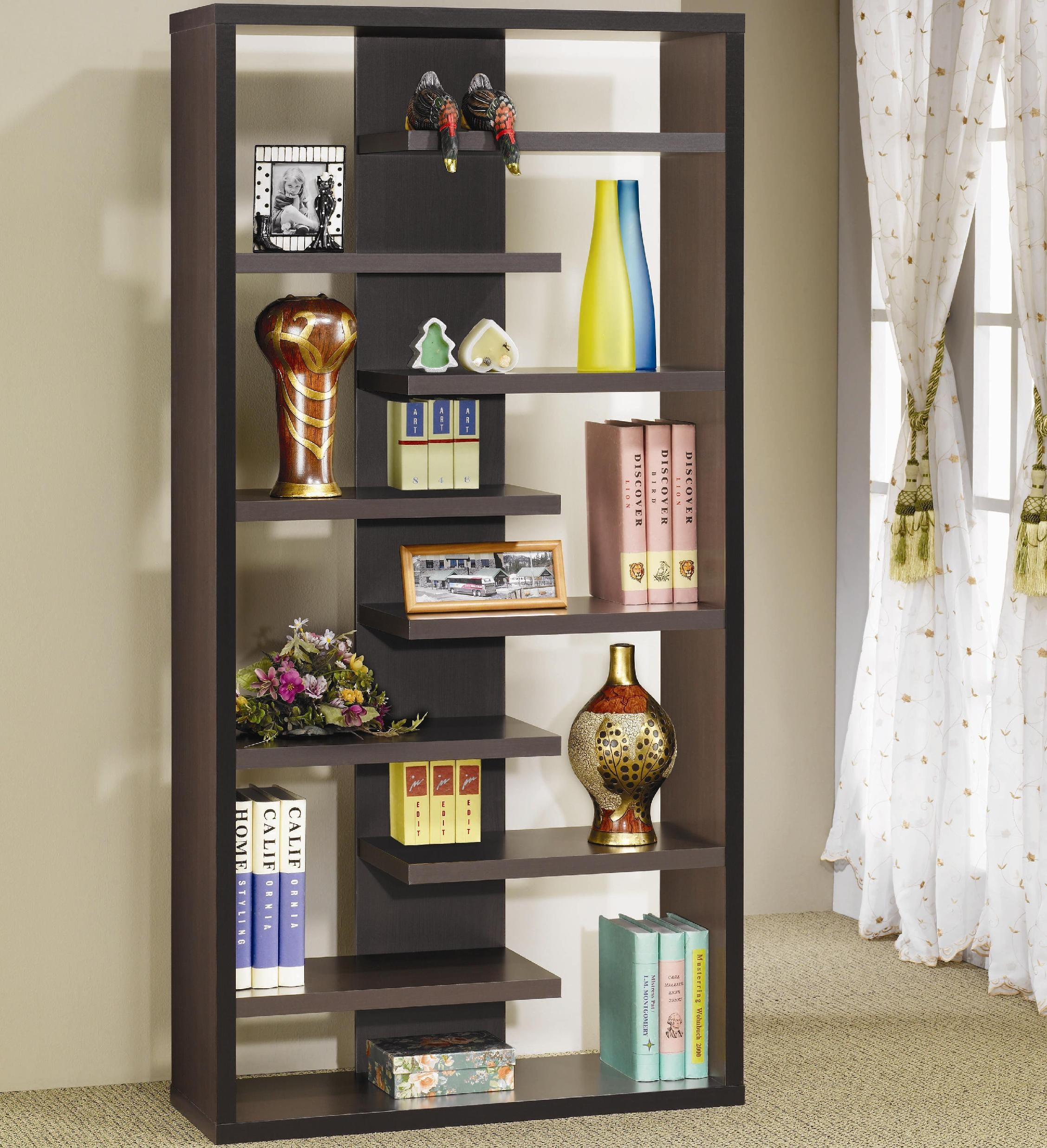 Coaster Home Office Bookcase 800288 Gibson Furniture