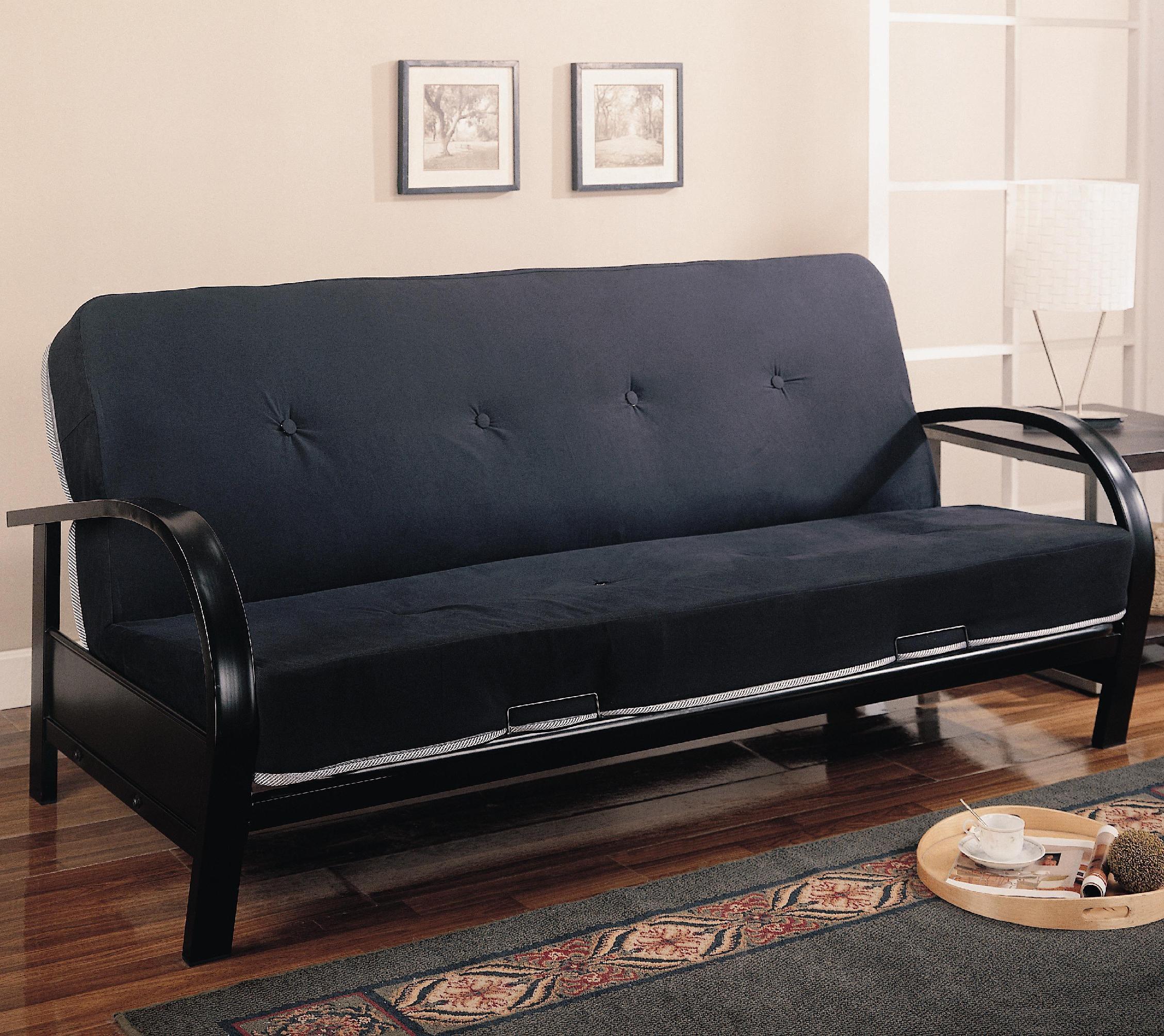 Coaster Living Room Futon Frame Turner Furniture