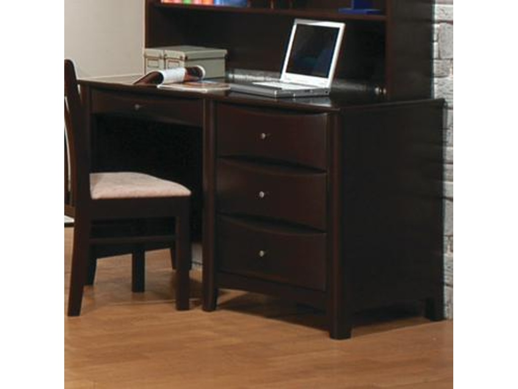 Coaster home office desk 400187 simply discount for Affordable home office desks