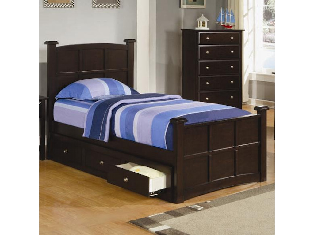 Coaster bedroom full bed 400751f factory direct for Factory direct bedroom furniture