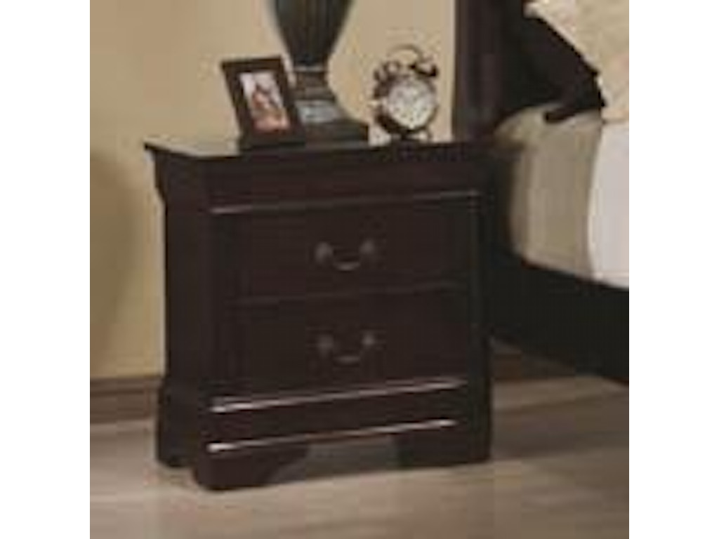Coaster Bedroom Nightstand 203972 Aaron 39 S Fine Furniture