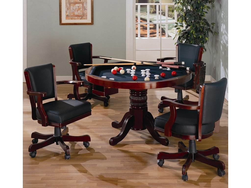 Coaster bar and game room table the