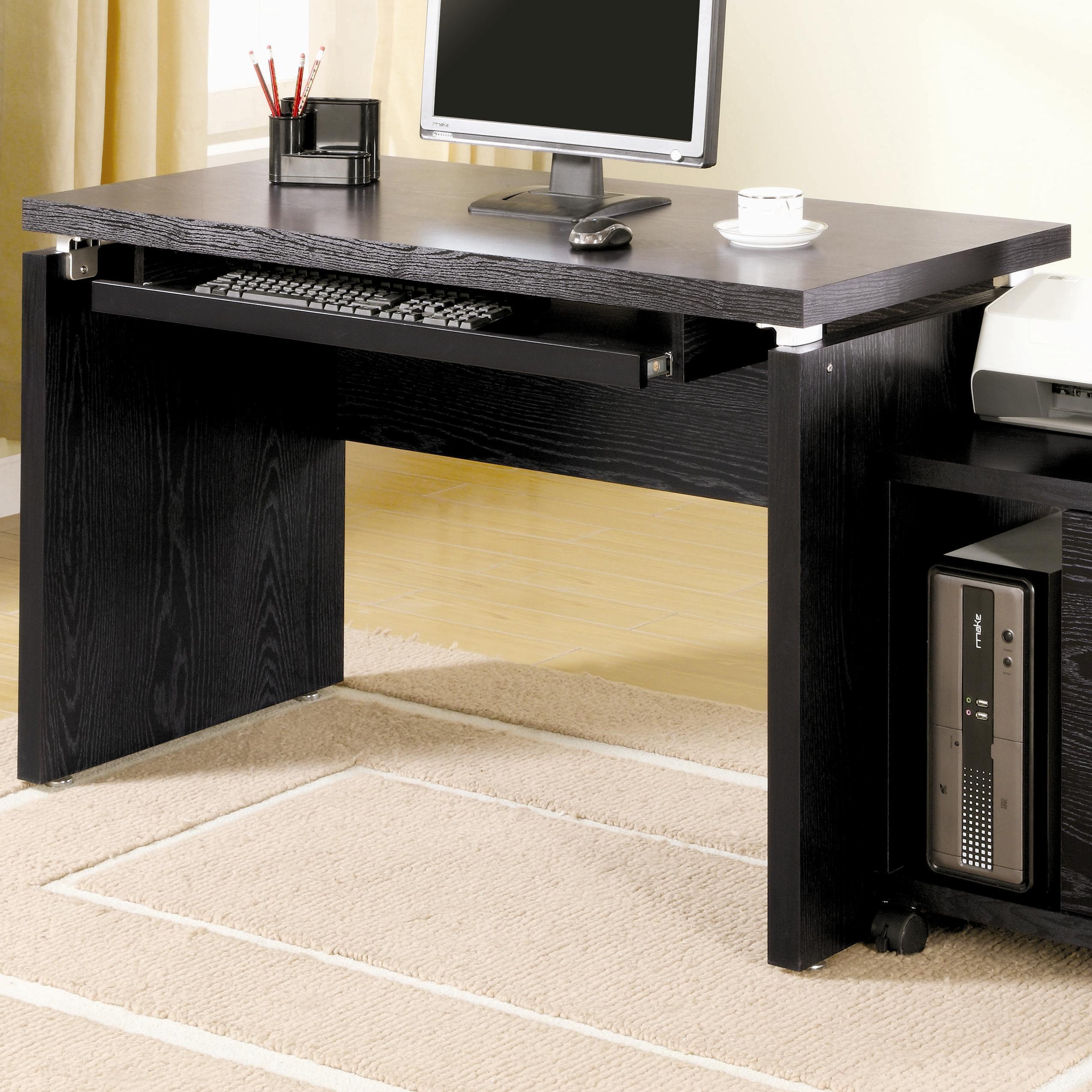 designer computer desks for home workstation coaster home office computer desk 800821 designer furniture gallery st george ut
