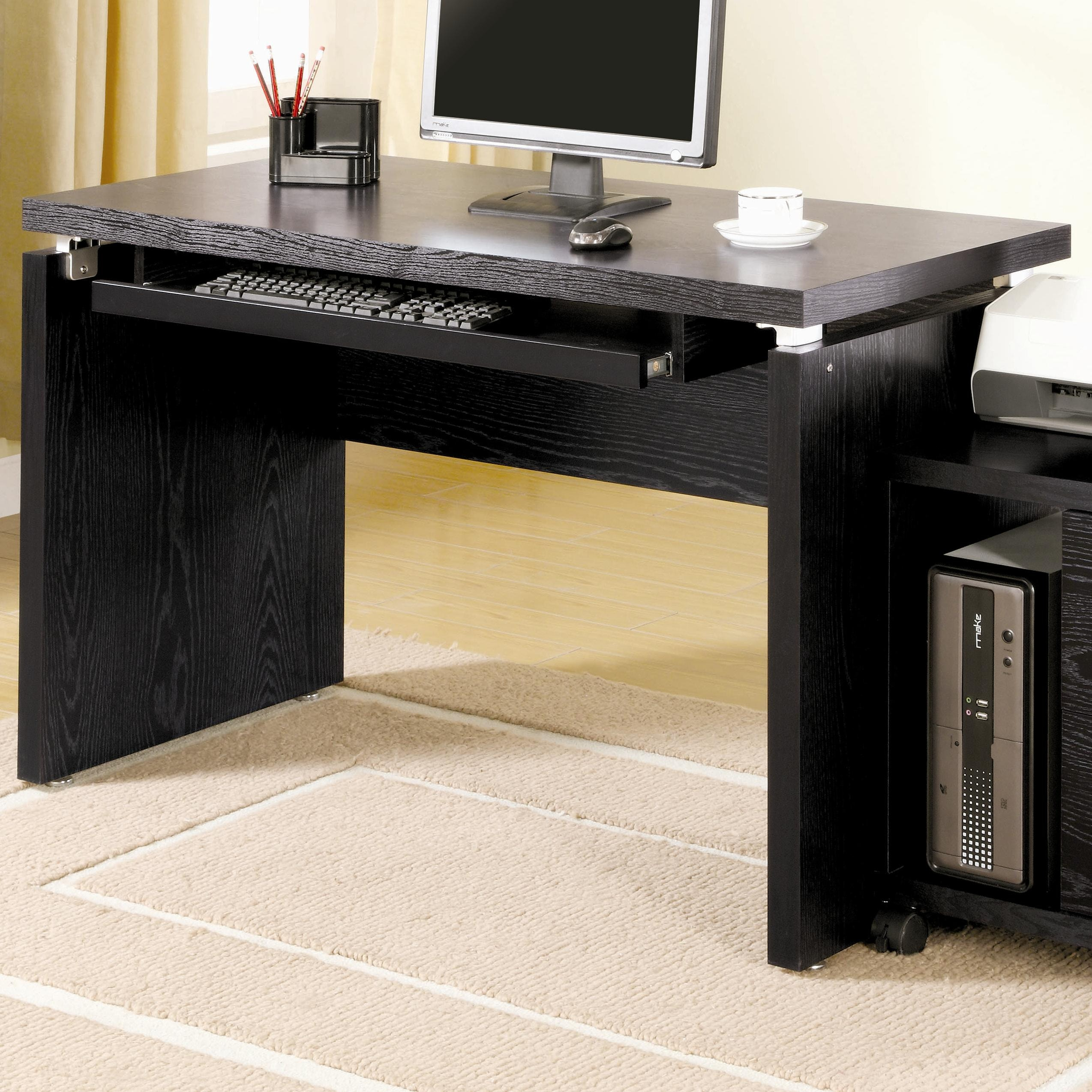 Coaster Home Office Computer Desk 800821 Hickory