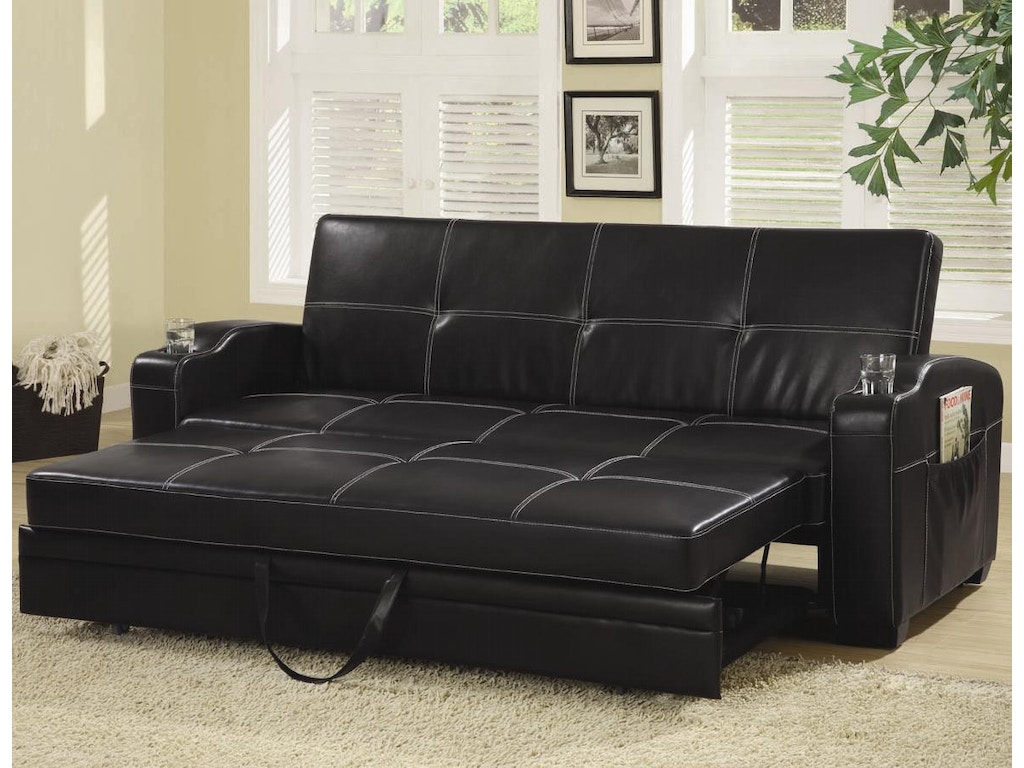 Coaster living room sofa bed 300132 factory direct for Factory direct furniture