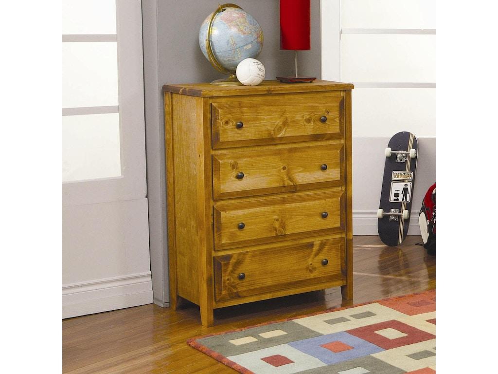 Coaster bedroom 4 drawer chest 460099 kent furniture for Bedroom 4 drawer chest