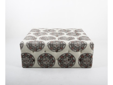 Container Marketing Tufted Square  Ottoman CC2563