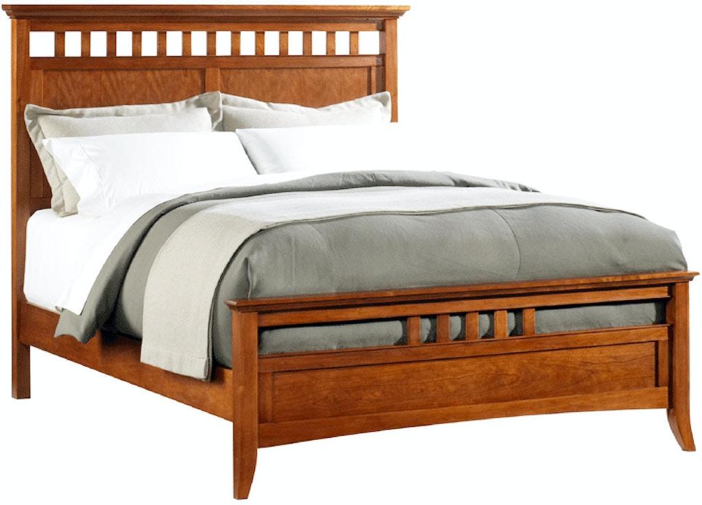 Cresent Fine Furniture Bedroom Modern Shaker Panel Bed 1331 Panel ...