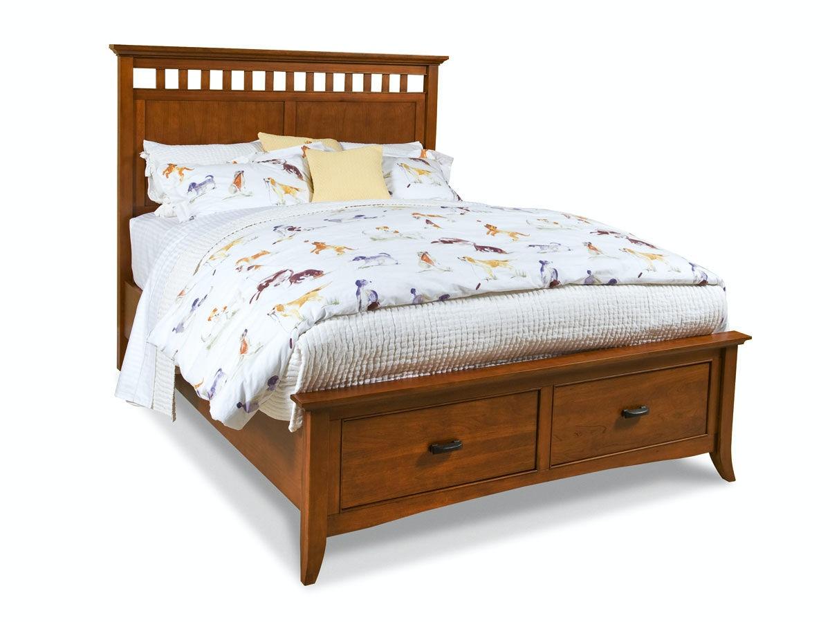1331 Panel Storage Bed