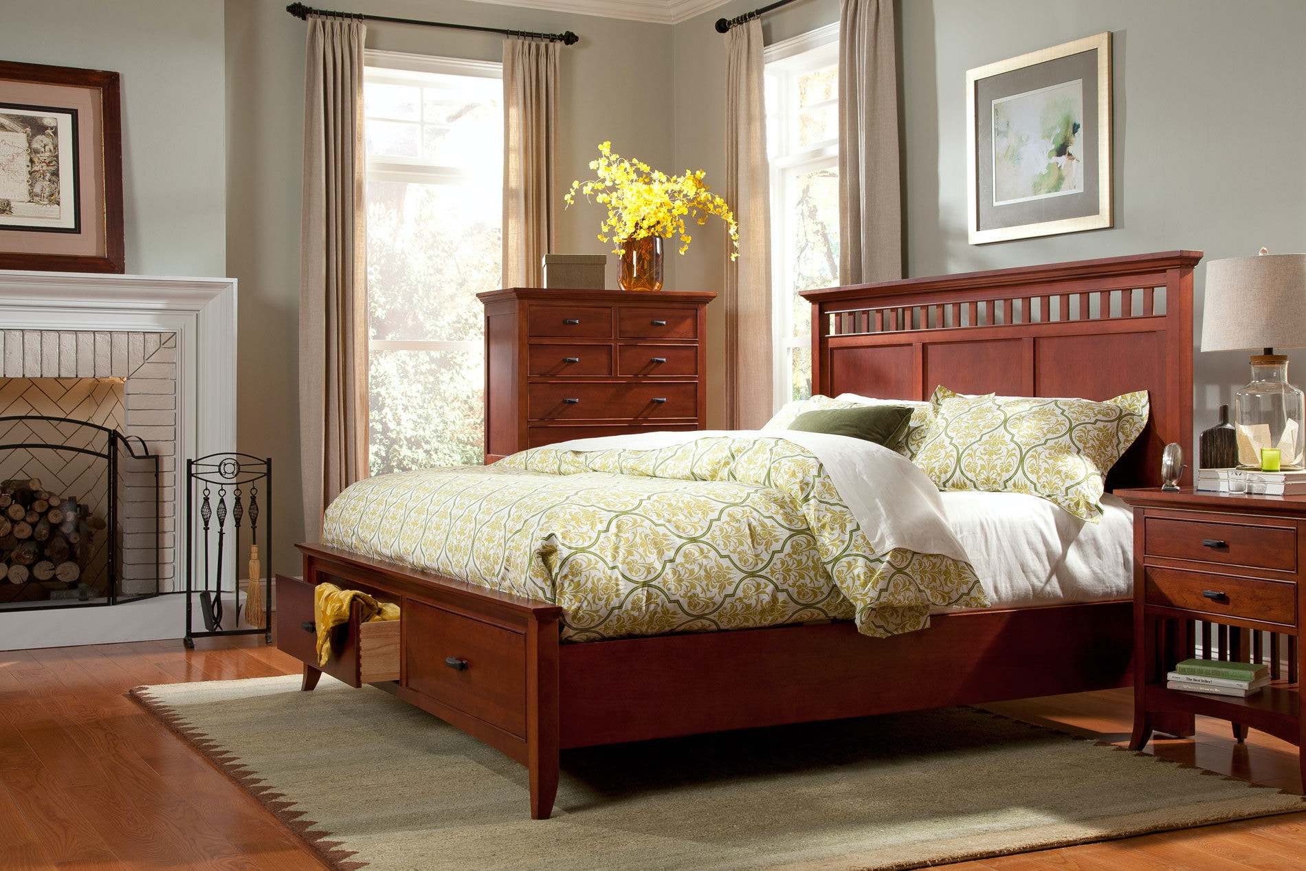 Modern Shaker Furniture. Cresent Fine Furniture Modern Shaker Panel Storage  Bed 1331