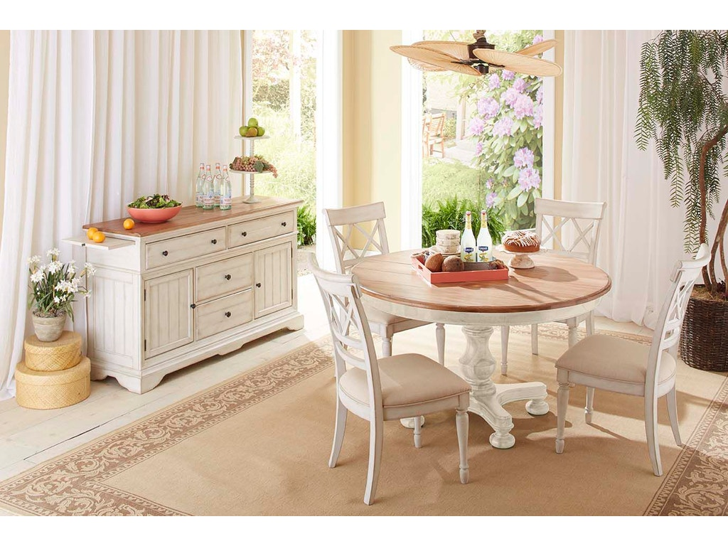 Cresent Fine Furniture Dining Room Cottage Round Table 201 151 BF Myers