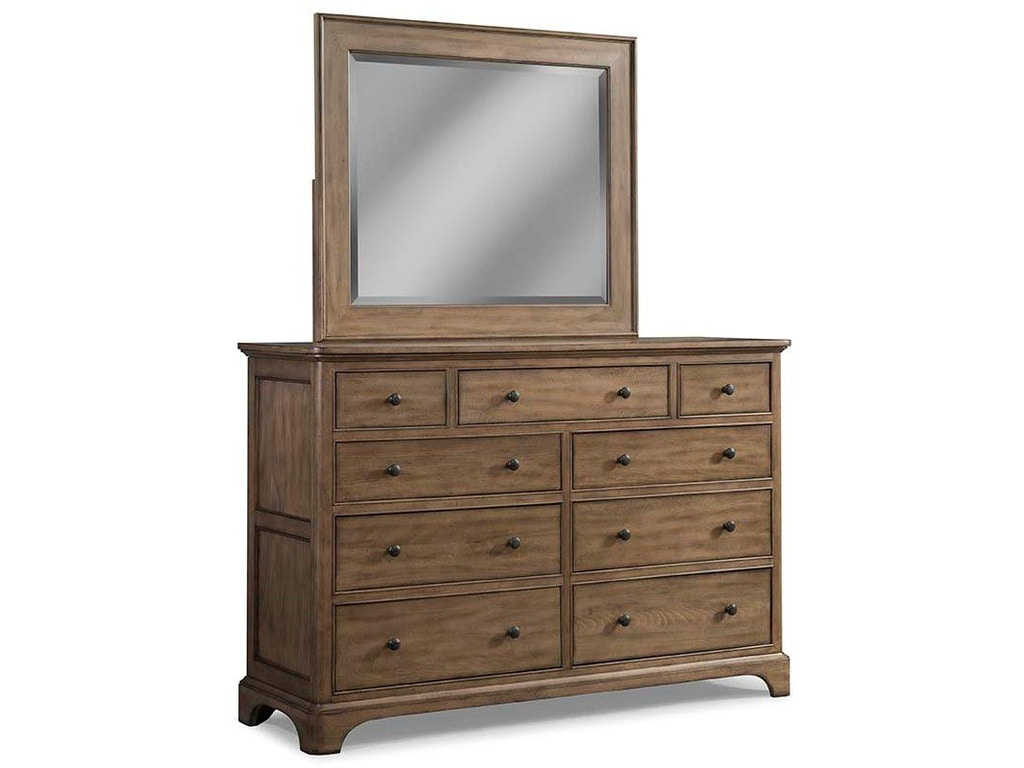 Cresent fine furniture bedroom gunnison media dresser 204 for Furniture 101