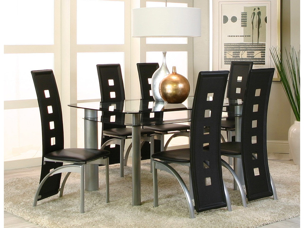 Cramco Dining Room Dining 7 Piece Set 92780 735 Ramsey Furniture Company