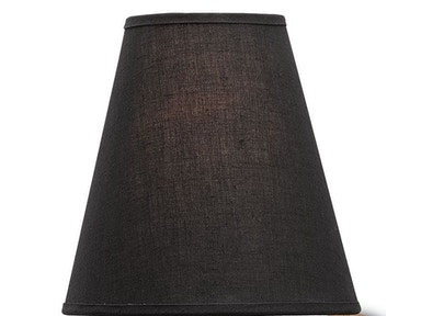 Currey and Company Black Shantung Shade 0078