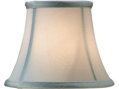 Currey and Company Blue Shantung Shade 0393