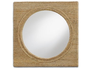Currey and Company Tisbury Mirror 1000-0004