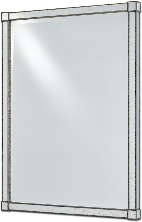 Currey and Company Accessories Monarch Mirror 1000-0008 - Georgia ...