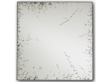Currey and Company Rene Mirror, Square 1091