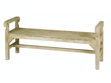 Currey and Company Chippendale Bench 2022