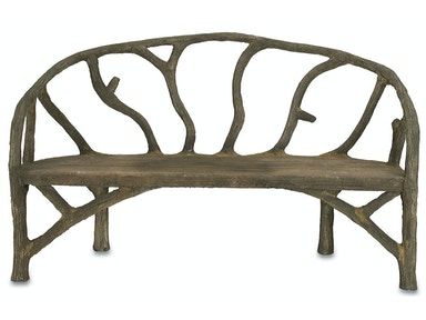 Currey and Company Arbor Bench 2700