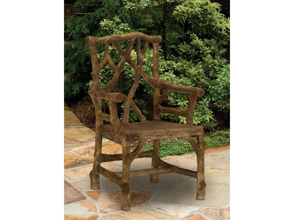 Currey And Company Outdoorpatio Woodland Arm Chair 2706 Studio 882 Glen Mills Pa Across
