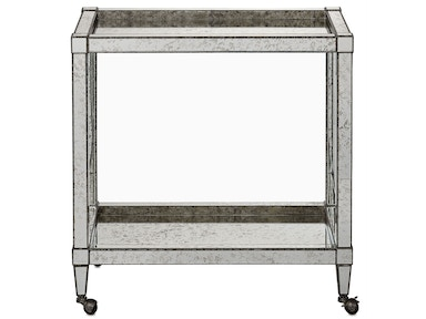 Currey and Company Monarch Bar Cart 3000-0009