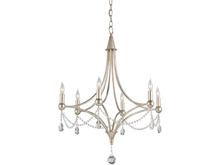 Currey And Company Etiquette Chandelier 9831