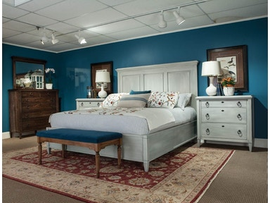 Durham Furniture Bedroom Queen Panel Bed 145-124 - Pala Brothers ...