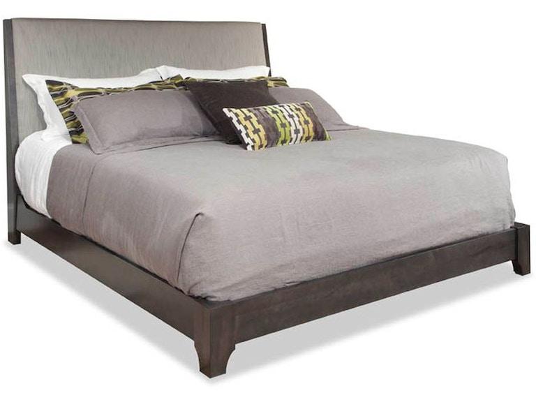 Durham Furniture Bedroom Queen Upholstered Bed 151-125 - Stowers ...
