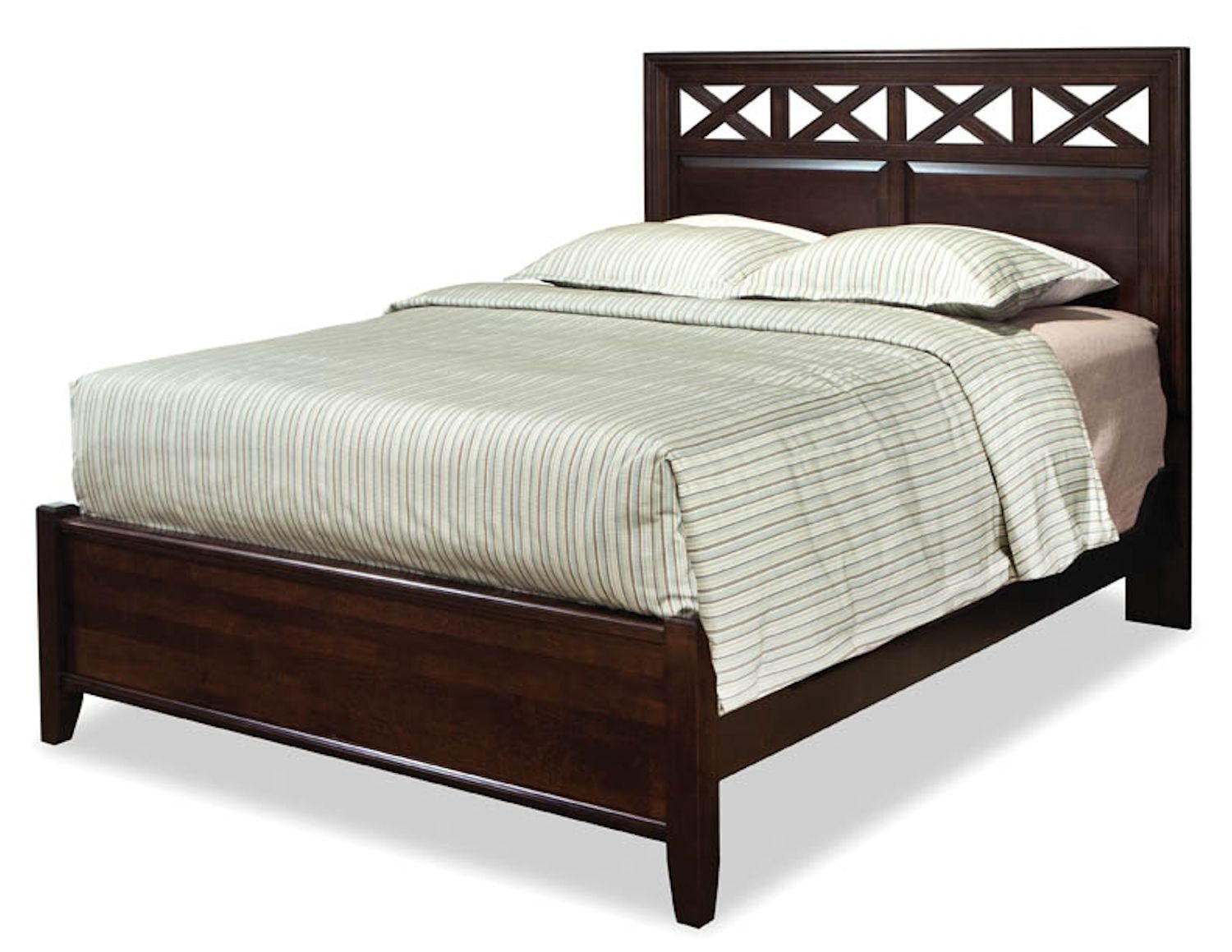 Durham Furniture Bedroom Glen Panel Bed 131 124 Rider