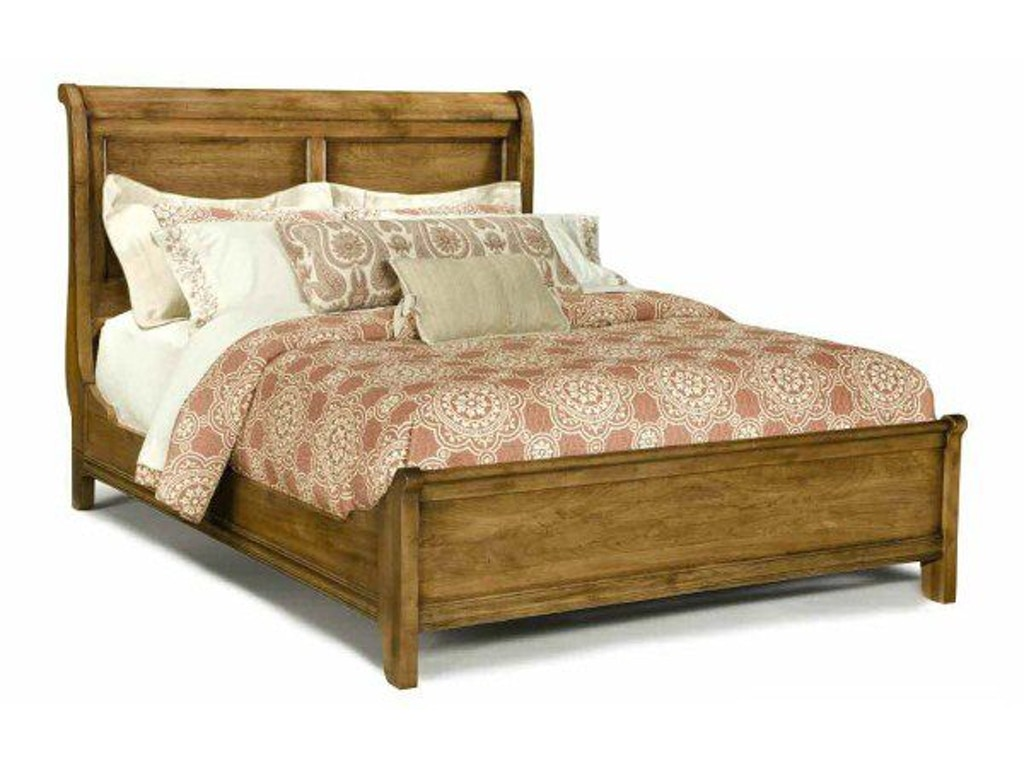 Durham Furniture Bedroom Queen Low Sleigh Bed 112 128b Priba Furniture And Interiors