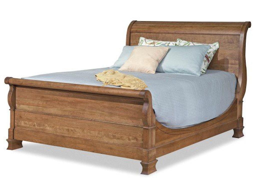 Durham Furniture Queen Master Sleigh Bed 112 129