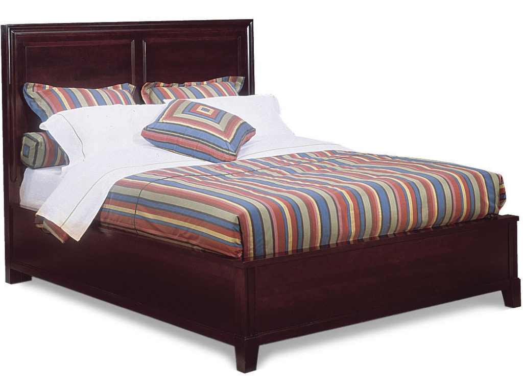 Durham furniture bedroom queen panel bed complete 227 134 for Classic furniture new albany in