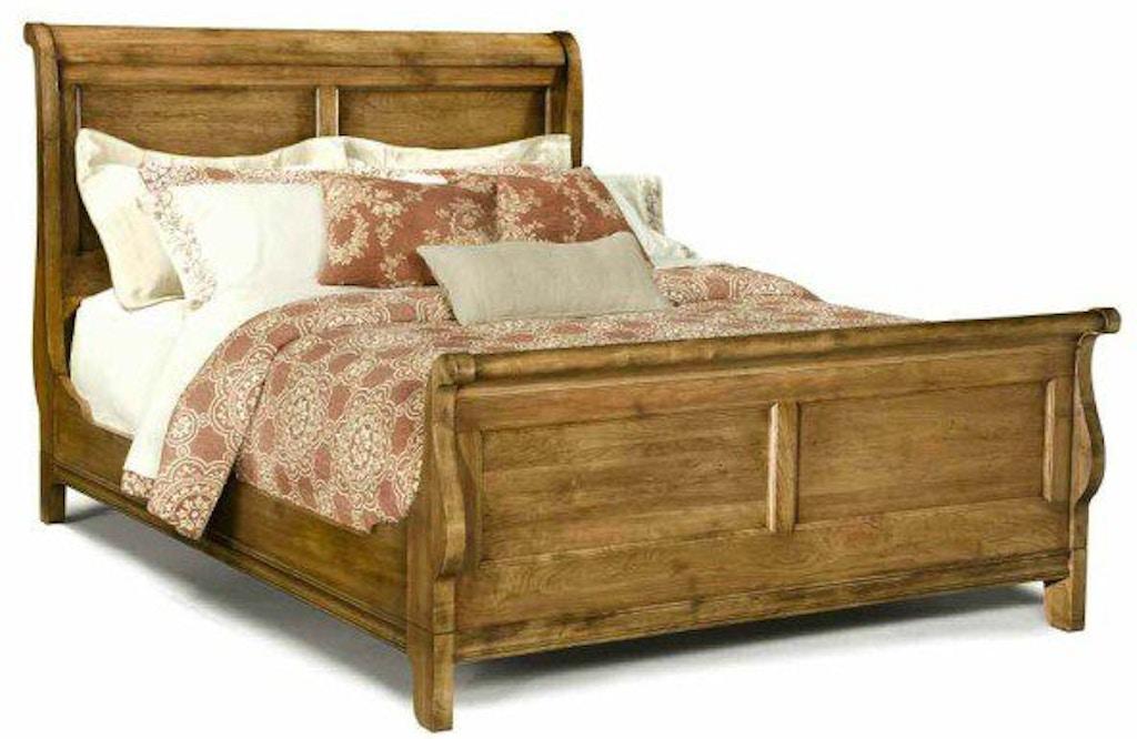 Durham Furniture Bedroom Queen Sleigh Bed 112-128 - Galeries ...