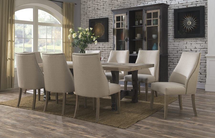 Emerald Home Furnishings Dining Table Kit Top And Base D551 11 K