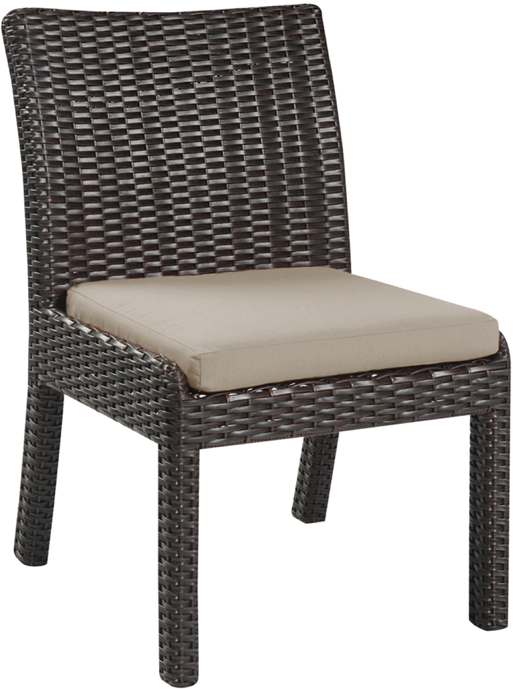 emerald home furnishings outdoor patio armless dining chair