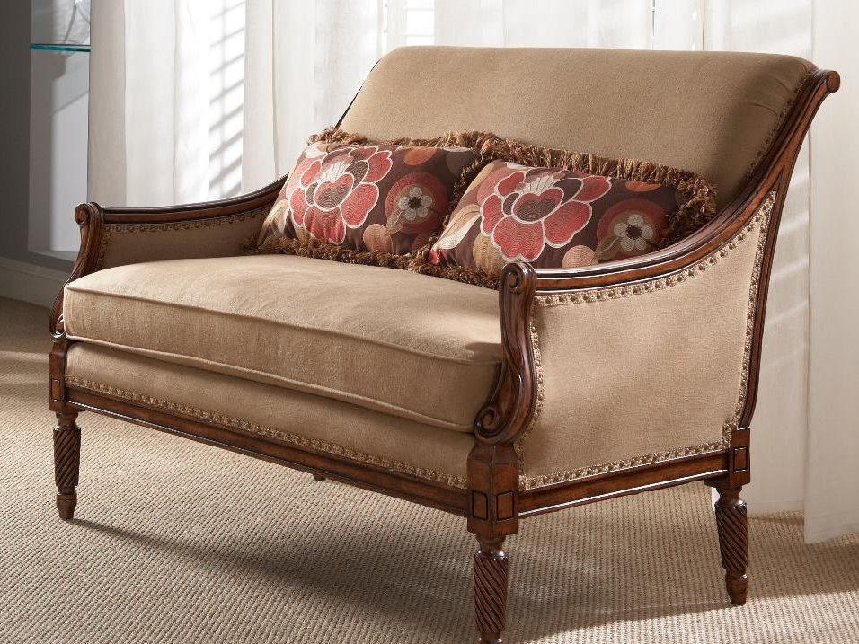 Bon Fine Furniture Design Living Room Settee 0811 02   Stacy Furniture    Grapevine, Allen, Plano And Flower Mound, Texas