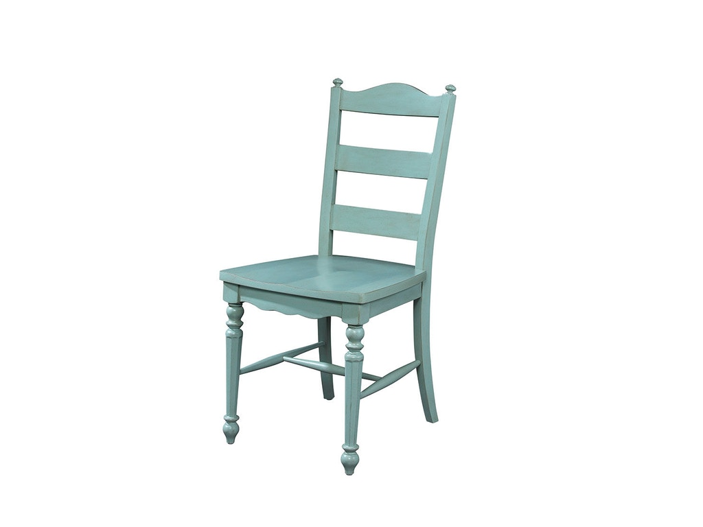 Fine furniture design dining room ladderback side chair 1053 826 kalin home furnishings Home design furniture ormond beach fl