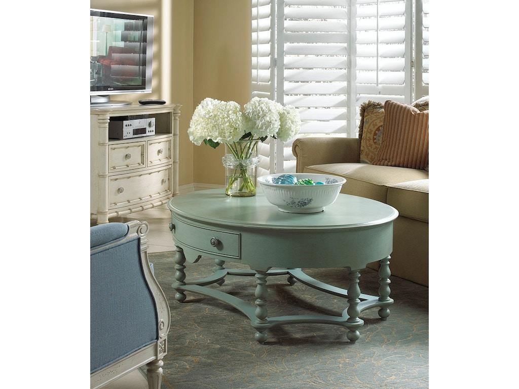 Fine Furniture Design Living Room Oval Cocktail Table 1053