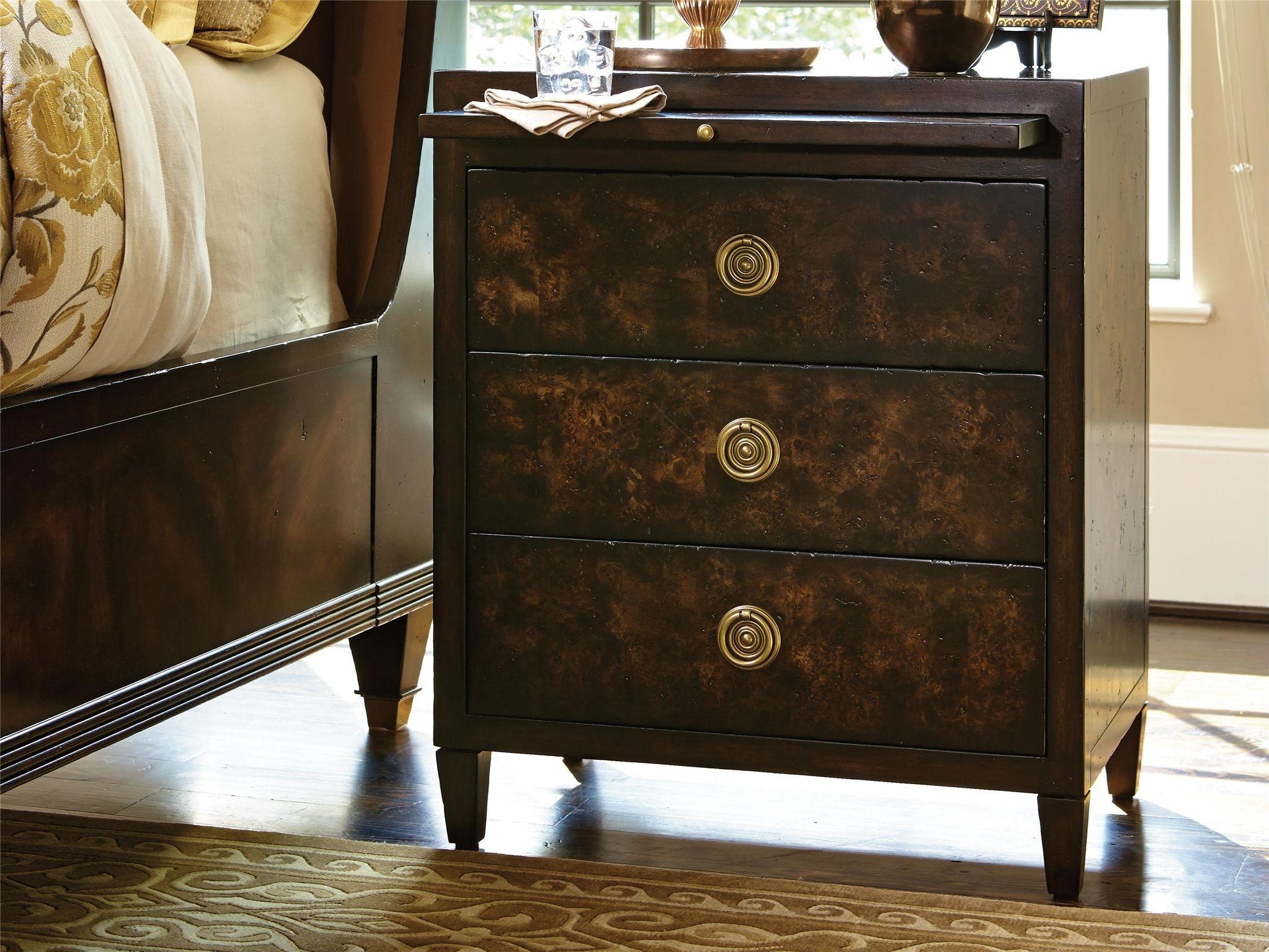 fine furniture design bedroom holmby hills nightstand 1426